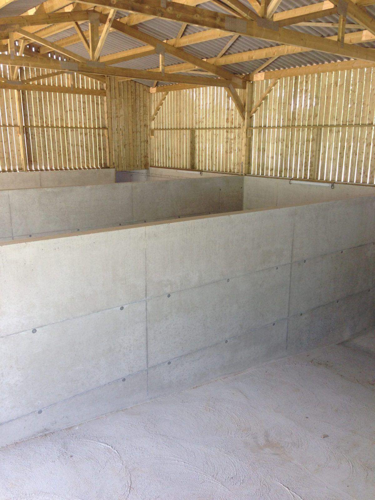 Porcherie : centre de testage sur TRAC