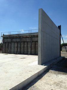 Hangar de stockage céréales à Josselin