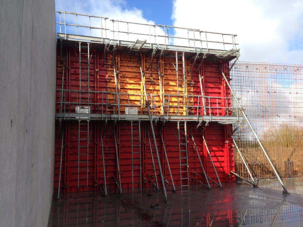 Extension d'un hangar de stockage céréales à Josselin